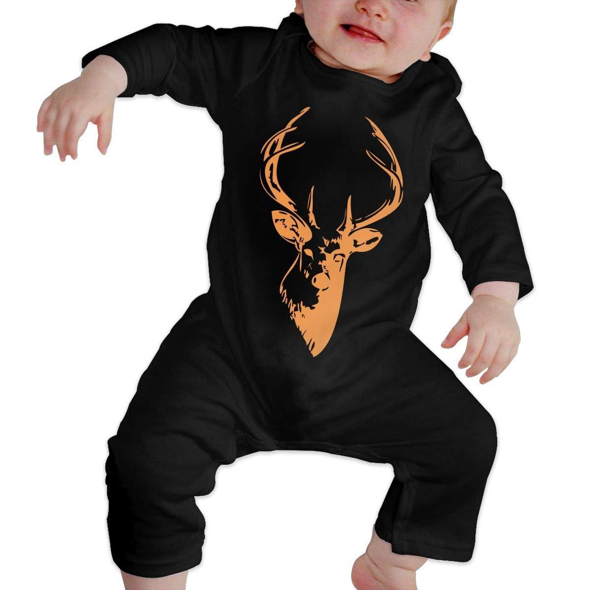 TYLER DEAN Newborn Baby Coverall Clipart Mule Deer Baby Rompers