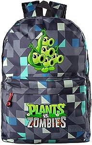 Siawasey Cute Plants Zombie Hot Game Bookbag Backpack School Shoulder Bag(18 Styles)
