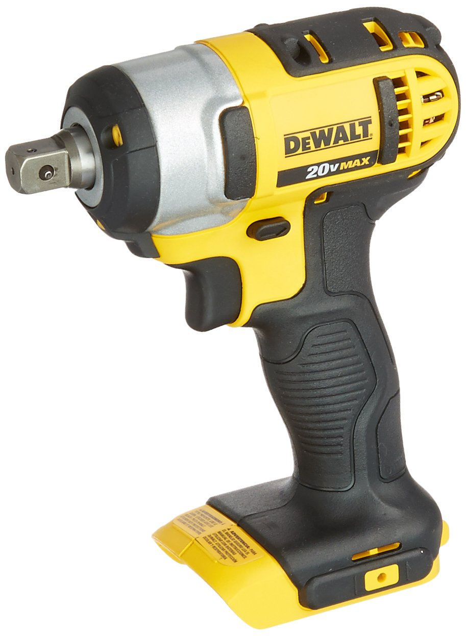 DEWALT 20V MAX Cordless Impact Wrench with Detent Pin, 1 2-Inch, Tool Only DCF880B