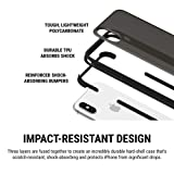 """Incipio Reprieve [Sport] Protective Case for iPhone Xs (5.8"""") & iPhone X with Reinforced Corners and Sporty Anti-Slip Grip - Black"""