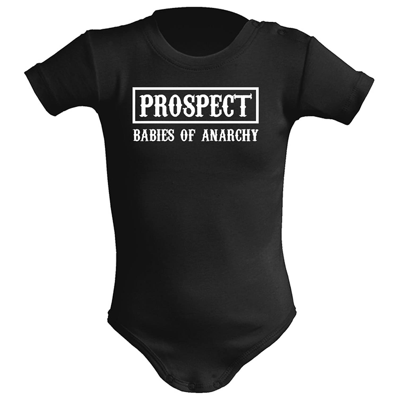 3be43321a2c5c Body bebé unisex Prospect (Sons of anarchy parodia). Regalo original. Body  bebé