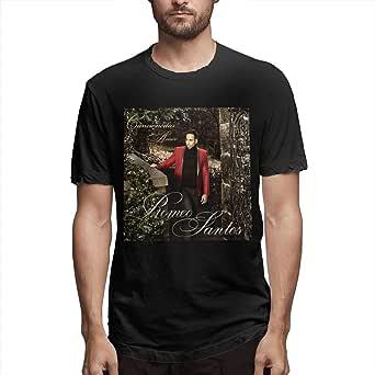 Pzrruot Romeo Santos - Camiseta de manga corta para ...