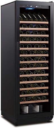 SWISSCAVE - Armario para botellas de vino WLB-450F-BGDY 1 zona para 135 botellas de Borgoña