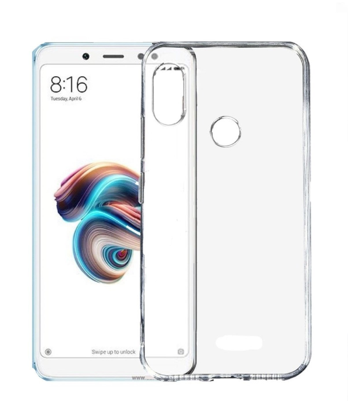 Parallel Universe Xiaomi Redmi Note 5 Pro Back Cover Case Ultra Ipaky Carbon Fiber Matte For Clear Compact Fit Soft Shock Absorbing Tpu Transparent Electronics