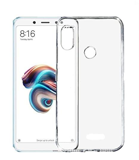 innovative design a8aa1 b338b Parallel Universe Xiaomi Redmi Note 5 Pro Back Cover Case Ultra Clear  Compact Fit Soft Shock Absorbing TPU - Transparent
