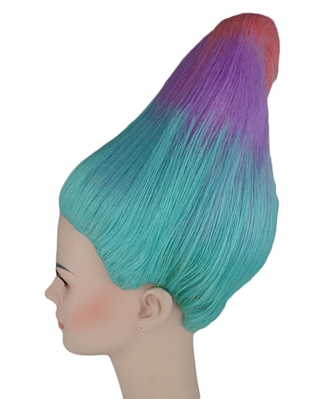 Blue/Pink Trolls Wig Trolls Movie Style (Adults): Amazon.es: Juguetes y juegos