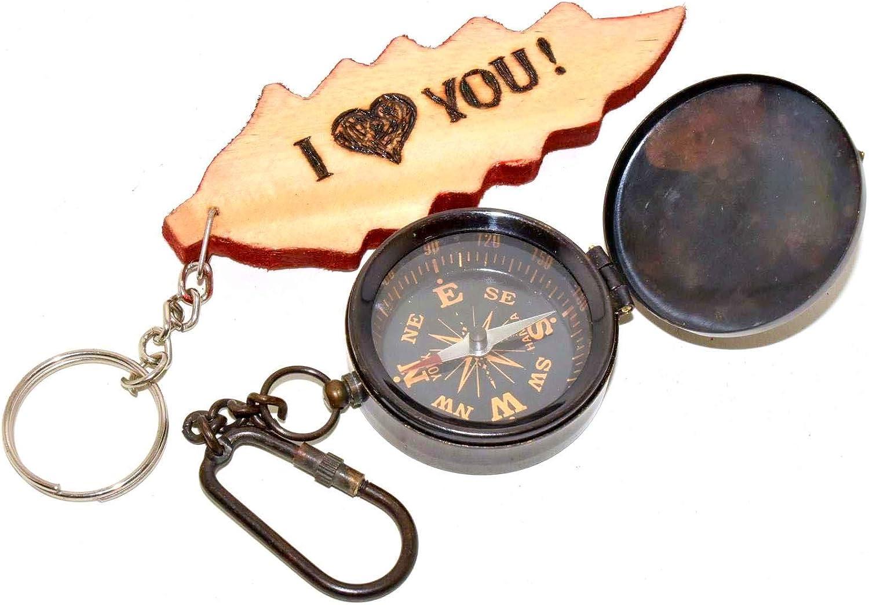 Nautical Brass Compass Lot Of 100 Pieces Marine Collectible Decor Compass
