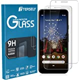 TERSELY Google Pixel 3A Screen Protector, [2 Pack] Premium Accurate Tempered Glass 9H Hardness Film Anti-Scratch Screen Protector Case Friendly for Google Pixel 3A