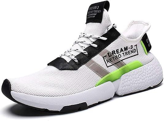 Zapatos para Correr Hombres Mujer,Veluckin Ligero Transpirable Deporte Zapatillas Running Casual Zapatos: Amazon.es: Zapatos y complementos