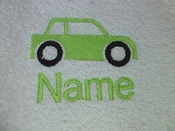 Badetuch Mit Ein Auto Logo Und Namen Ihrer Wahl Bitte Schicken Sie