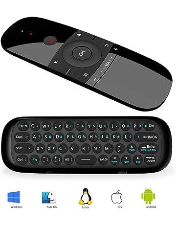 Ratón de Aire, Sunsnail Ratón y Mini Teclado Inalámbrico para Android TV Box, Smart
