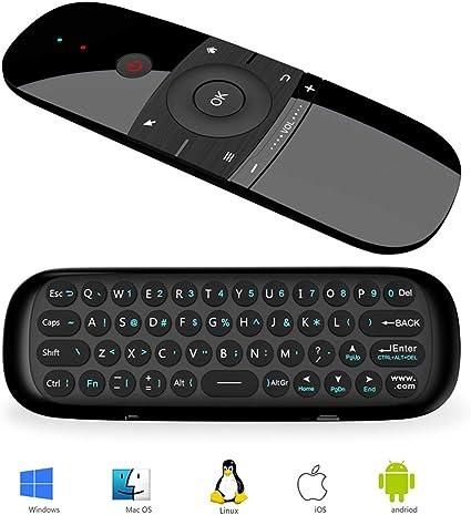 Ratón de Aire, Teclado Inalámbrico y Ratón para Android TV Box ...