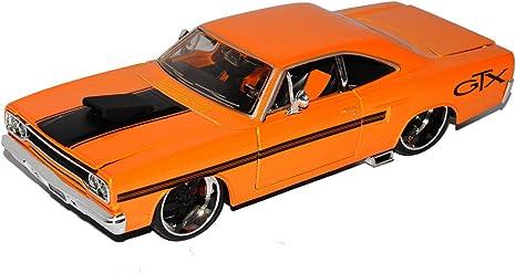 Plymouth GTX Coupe Orange 1970 Tuning 1//24 Maisto Modell Auto mit oder ohne in..