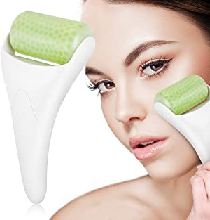 BFASU Upgrade Ice Roller for Face & Eye Puffiness Migraine Relief, Ice Face Rollers for Women Facial Massager, Minor Injury, Headaches Relief, Anti Wrinkle Skin Care Product