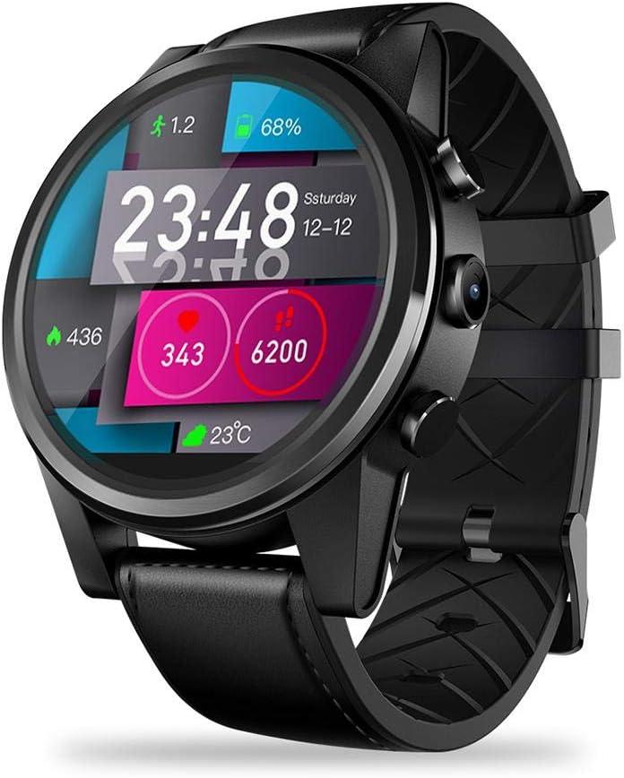 Reloj inteligente KOBWA WiFi Bluetooth con frecuencia cardíaca ...