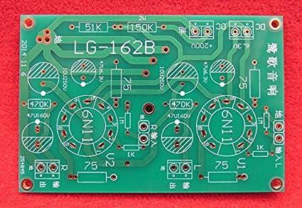 Generic Vacuum Tube SRPP Headphone Amplifier: Amazon in: Electronics