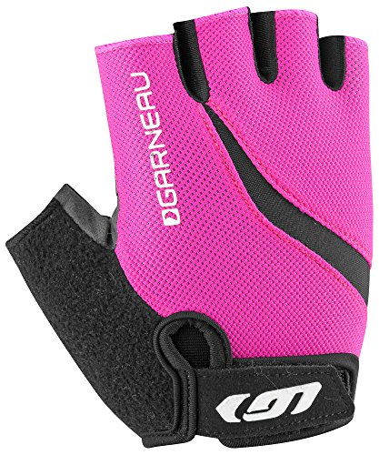n's Biogel RX-V Bike Gloves, Pink Glow, Medium (Womens Biogel Glove)