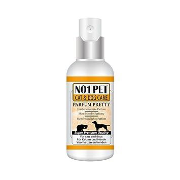 Georgio Bonetti Gatos y Perros Parfum Pretty Parfum Agradable para Perros y Gatos: Amazon.es: Productos para mascotas