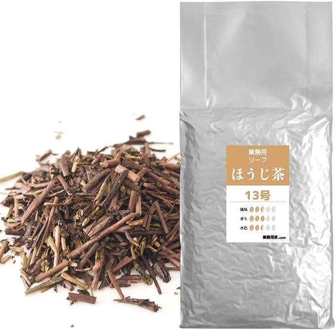 ほうじ茶 茶葉 1kg 静岡茶 業務用 飲料用 加工用(ほうじ茶13号)