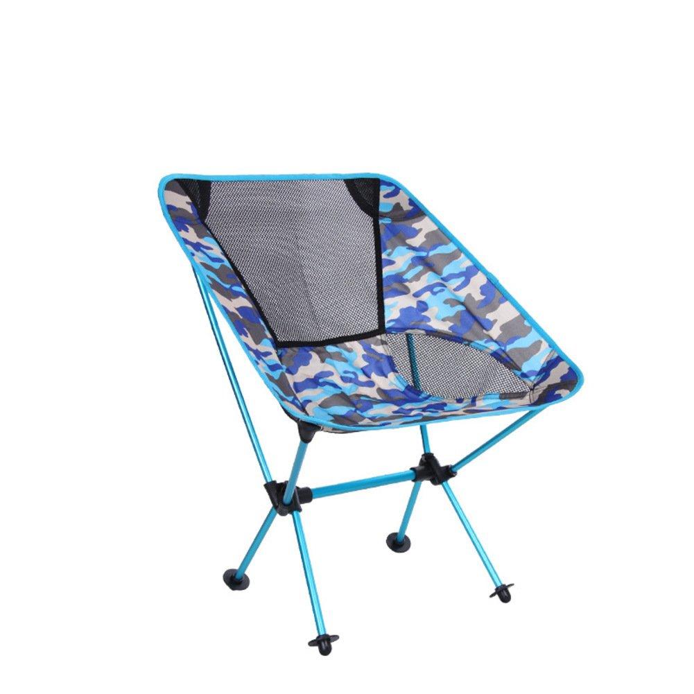 KFHSNJ Outdoor Portable Campingstühle klappstuhl,Falten Angeln Stuhl-B