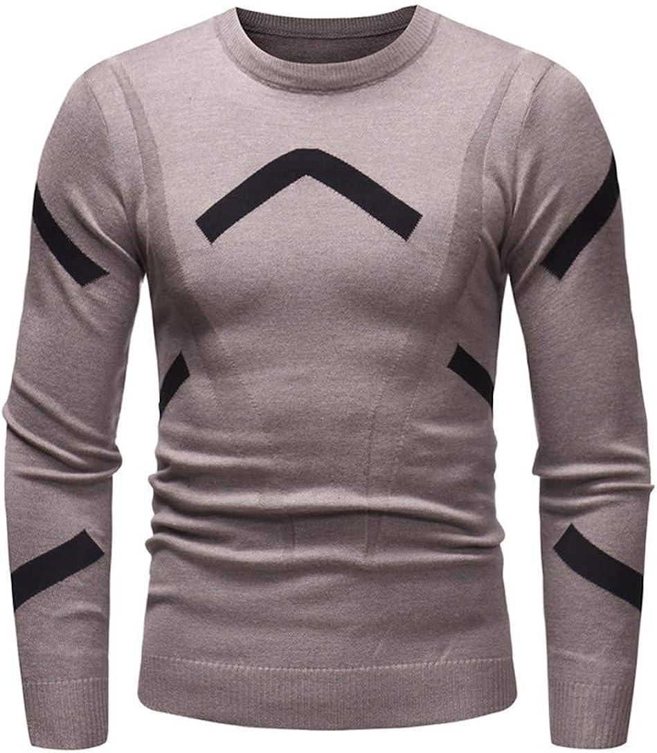 iLXHD Mens Outwear Blouse Autumn Winter Sweater Pullover Slim Jumper Knitwear