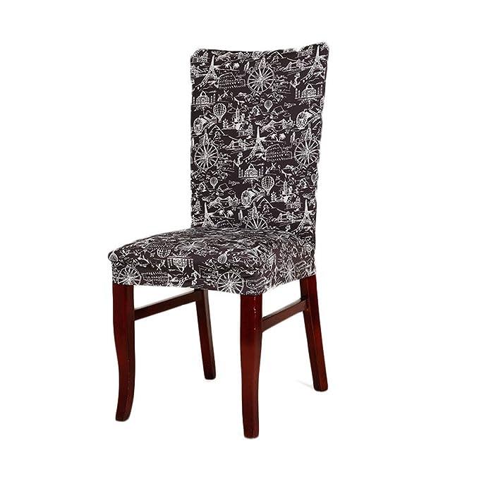Yunt Funda de silla elástica con diseño original impreso ...