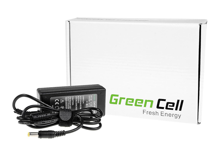 Celda verde® Cargador/Adaptador de CA para ordenador portátil Packard Bell EasyNote Butterfly XS (UK Cable de alimentación incluido, salida: 19 V 1.58 A 30 ...