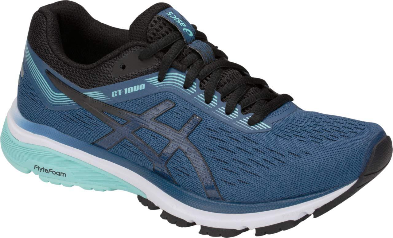 ASICS GT-1000 7 Women's Running Shoe, Grand Shark/Black, 5 W US by ASICS (Image #1)