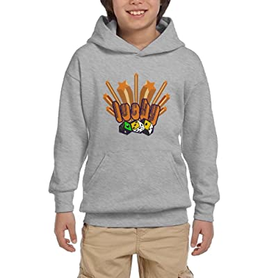 Dice Cartoon Youth Unisex Hoodies Print Pullover Sweatshirts