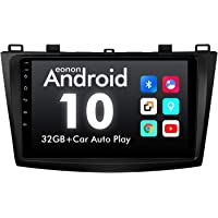 2021 Car Stereo, Eonon 9 Inch Android 10 Car Radio, Compatible with Mazda 3 2010-2013, IPS HD Full Touchscreen Head Unit…