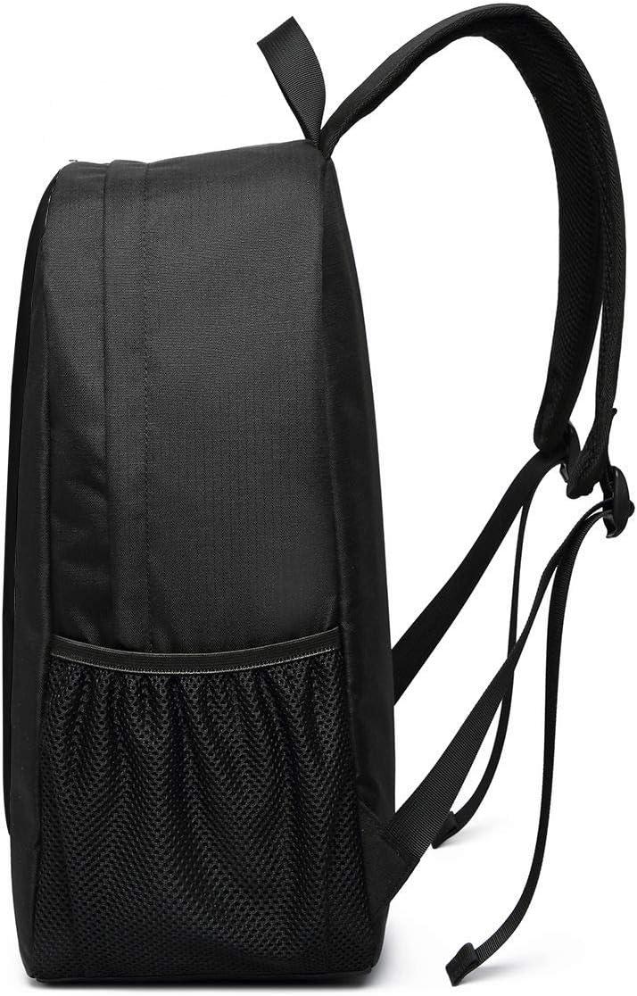 Taille unique Polyester Noir Border Collie Sac /à dos de voyage pour ordinateur portable 17