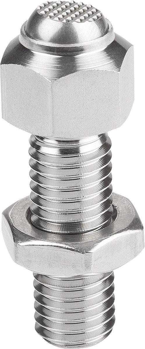 Rocker Cushion M08, Pendant: F Stainless Steel, Adjustable, Stainless Steel–Length = 25–Retail Packaging–k0287.3081