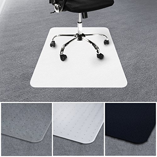 -[ casa pura Office Chair Mat for Carpets | Floor Protector for Office and Home Desk Chairs | 100%