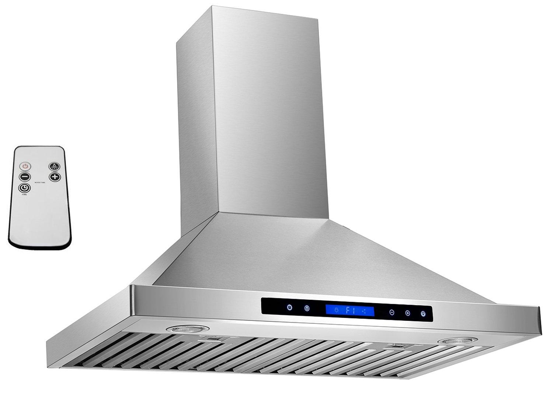 stainless steel vent hood. Amazon.com: AKDY 30\ Stainless Steel Vent Hood E