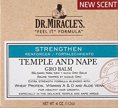 Dr Miracle S Feel It Formula Temple And Nape Gro Balm 4