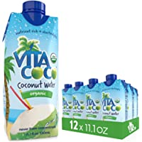 12-Pack Vita Coco Organic Coconut Water and Sports Drinks
