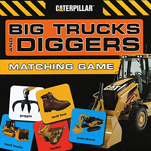 Chronicle Books Big Trucks and Diggers Matching Game