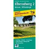 Elberadweg 2, Dessau - Wittenberge: Leporello Radtourenkarte mit Ausflugszielen, Einkehr- & Freizeittipps, wetterfest, reissfest, abwischbar, GPS-genau. 1:50000 (Leporello Radtourenkarte / LEP-RK)