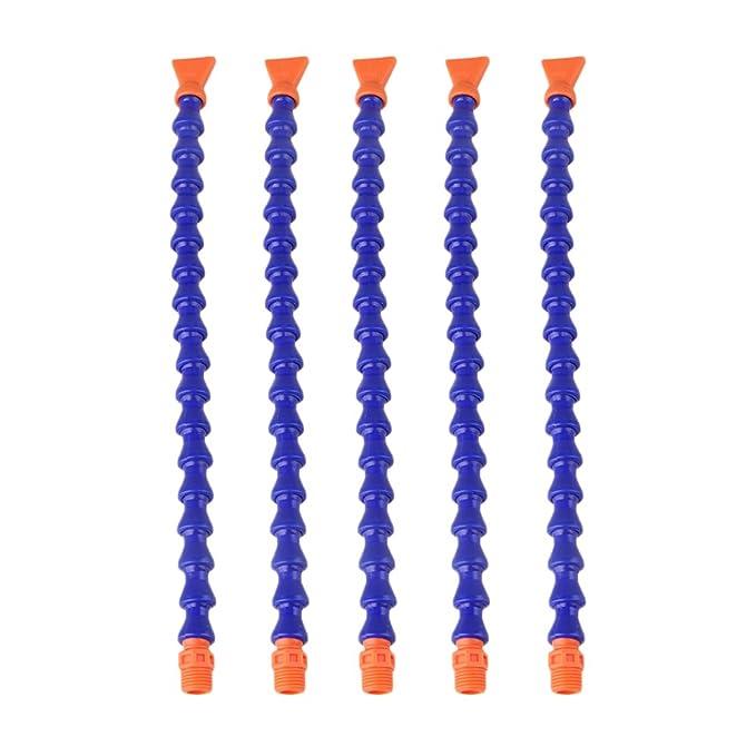/Ölk/ühlmittelrohr CNC-Maschine usw. 10 st/ücke Flexible K/ühlmittelschl/äuche Kunststoff Einstellbares K/ühlmittelrohr f/ür Drehmaschine Fr/äsen