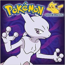 Calendrier De Lavent Pokemon 2020.Amazon Fr Pokemon 2019 Calendar Pokemon Company