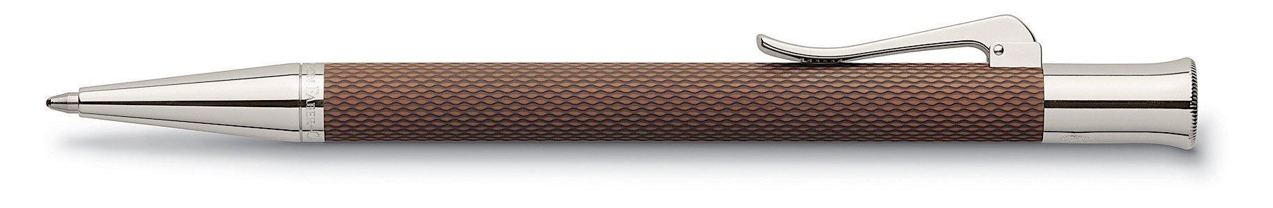 GRAF von Faber-Castell Guilloche Propelling Pencil - Cognac