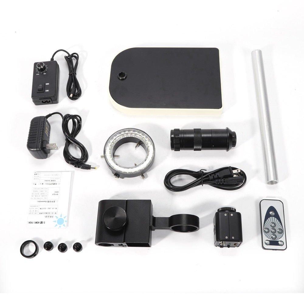 Advanced CMOS Sensor Camera 1//3 inch 16MP 1080P HD HDMI Digital Industrial Video Microscope Superior Industrial Quality Base YUNRUS Digital USB Microscope Camera