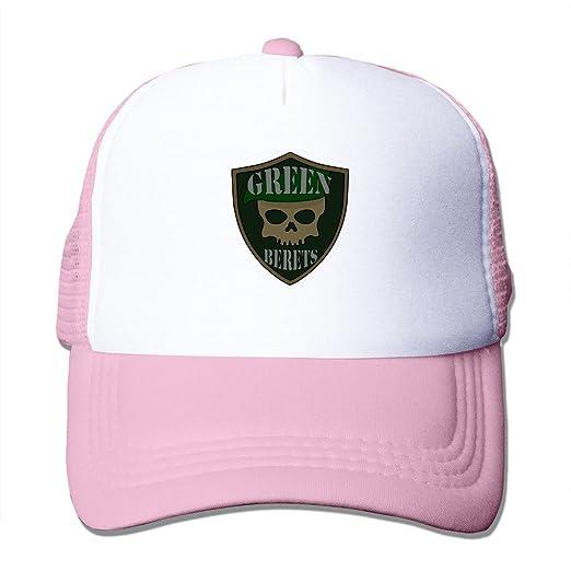 a9186efb5b Amazon.com  Cool The Green Berets Trucker Baseball Hats Pink ...