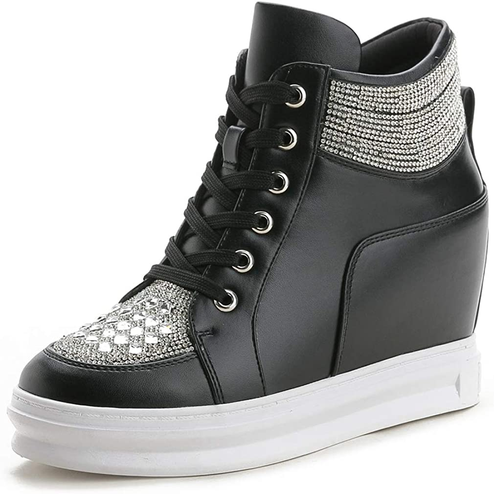 Hidden Heel Wedges Platform Shoes