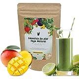 スムージーデダイエットべジナチュラル 野菜酵素352種MIX グリーンスムージー (トロピカルマンゴー味)