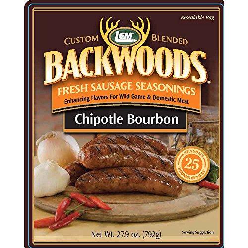 LEM Products 9145 Backwoods Chipotle Bourbon Seasoning (25 -