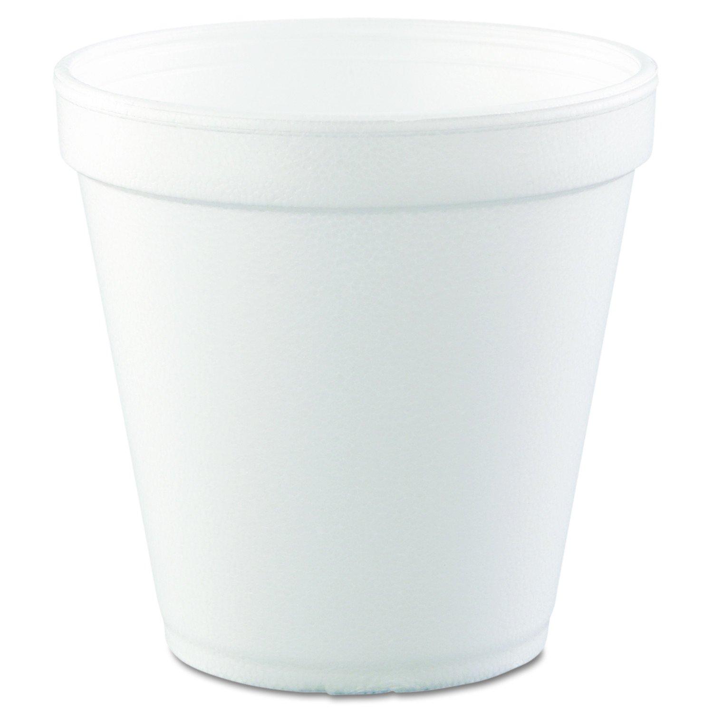Dart 16MJ20 Foam Containers, Foam, 16oz, White, 25 Per Bag (Case of 20 Bags)