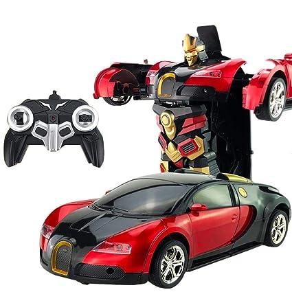 Amazon com: Umiwe RC Car Robot Toys Kids Remote Control Cars