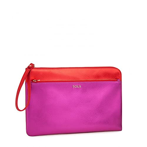 Tous Clutch Essence en color fucsia-rojo: Amazon.es: Zapatos ...