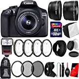 Canon EOS 1300D / Rebel T6 18MP Digtal SLR Camera with 18-55mm IS STM Lens , TTL Speedlite Flash and Accessories